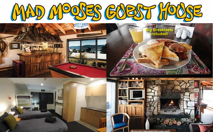Mad Mooses Guesthouse Accommodation Snowy Mountains JIndabyne