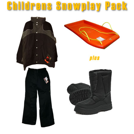 Kids Snowplay Package