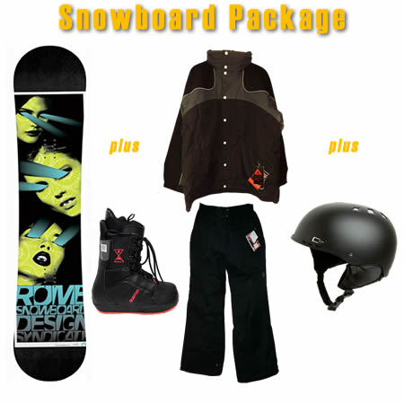 Snowboard Packages - Monster Sports